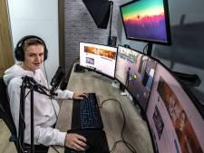 Nylan (15) uit Deventer vlogt zich als 'game-influencer' omhoog op YouTube: 'Op naar de 100.000 volgers!'