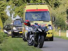 Motorrijder gewond na valpartij in Hengevelde