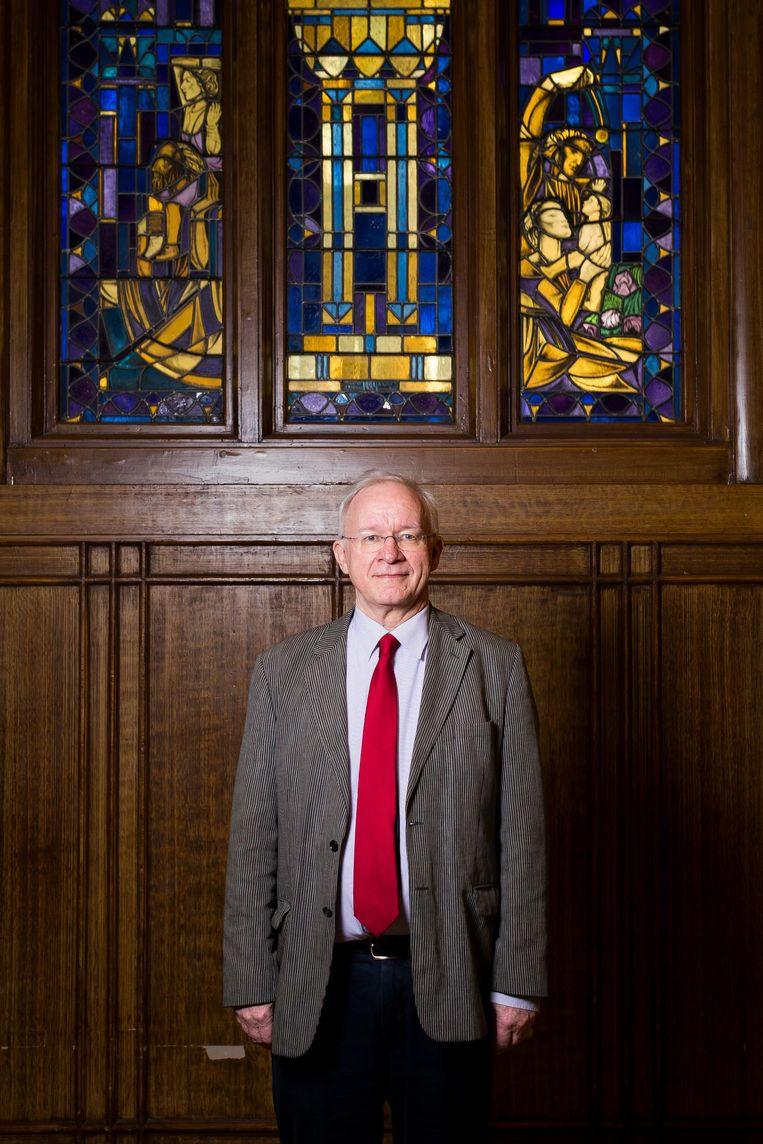 De huidige rector Roel Schoonveld Beeld Rink Hof