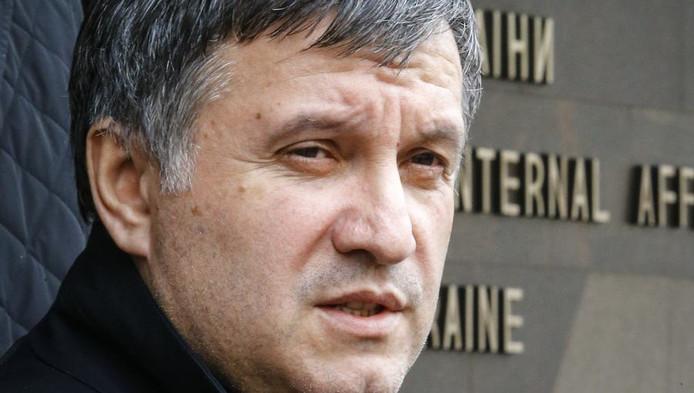 Arsen Avakov, le ministre de l'intérieur ukrainien