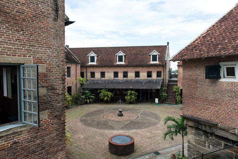 Binnenplaats van Fort Zeelandia Beeld ANP