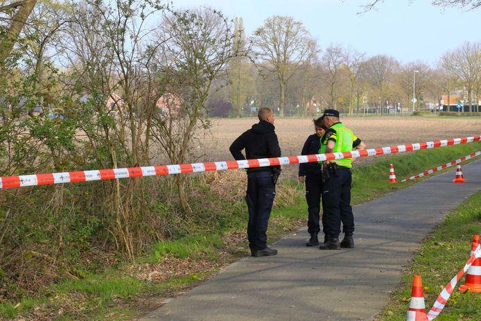 De locatie waar een meisje (18) werd verkracht in Heusden.