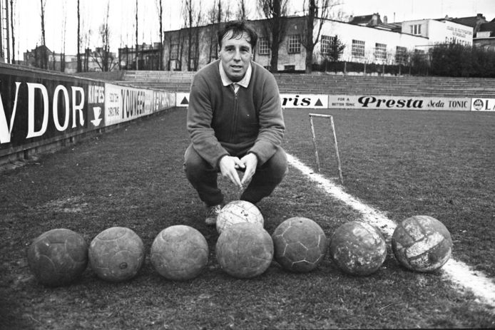 Rik Coppens op training in maart 1967.