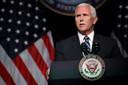 Vicepresident Mike Pence onthulde in het Pentagon meer details over de Space Force.