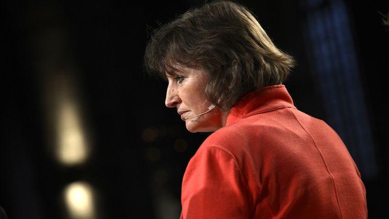 Minister Liesbeth Spies. Beeld ANP