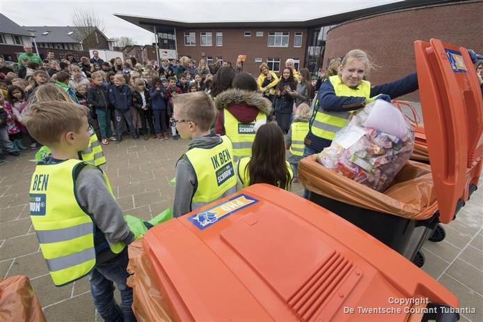Inzamelen van plastic nam een enorme vlucht, ook in de gemeente Tubbergen.