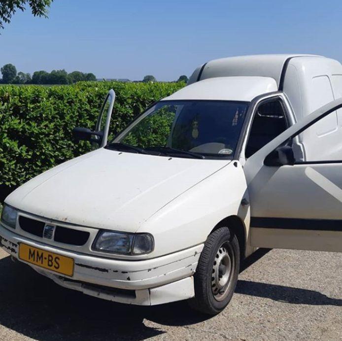 MMBS-voertuig van de weg gehaald in Oss.
