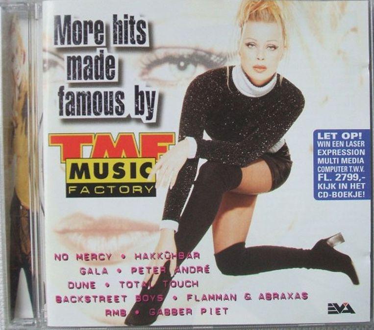 In de jaren 90 en 00 was TMF het grootste muziekkanaal onder jongeren. Het bracht ook eigen cd's uit. Beeld TMF