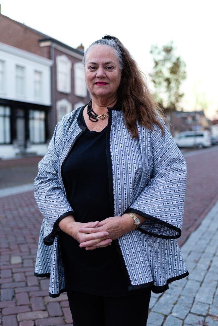 Jacqueline Dijkinga. Beeld Katja Poelwijk