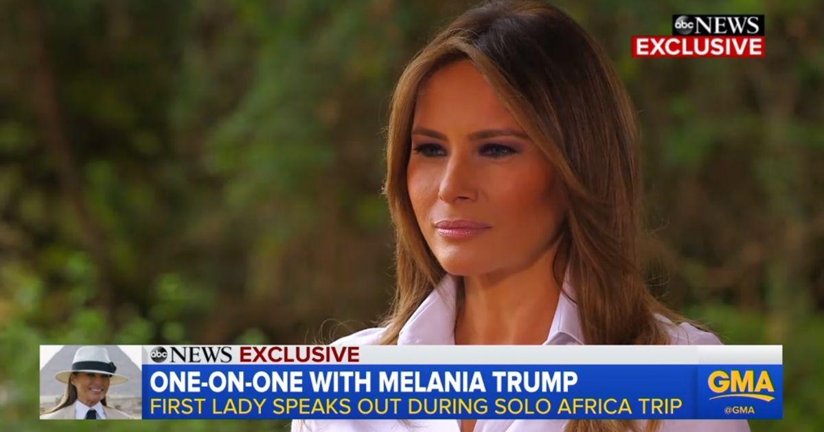 """Melania Trump: """"Slachtoffers van seksueel misbruik moeten met harde bewijzen komen"""""""