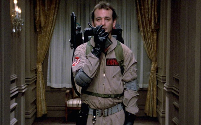 Bill Murray in Ghostbusters (1984)