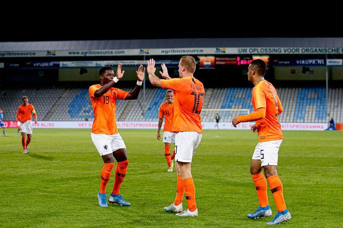 Jong Oranje won vorige maand met 5-1 van Cyprus.