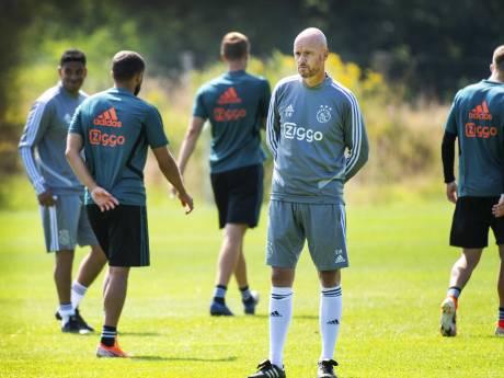 Ten Hag stoomt Ajax klaar: 'Vorig seizoen is verleden tijd'