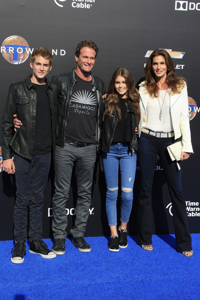 Presley, Rande, Kaia en Cindy (vlnr).
