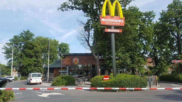 Door de overval was de McDonald's van Wondelgem destijds een tijdlang afgesloten.
