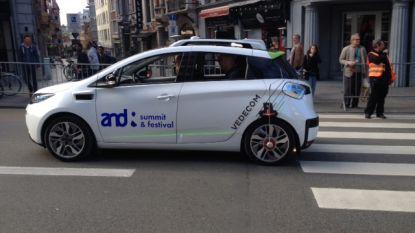 VIDEO. Primeur in ons land: zelfrijdende wagen rijdt door Leuven
