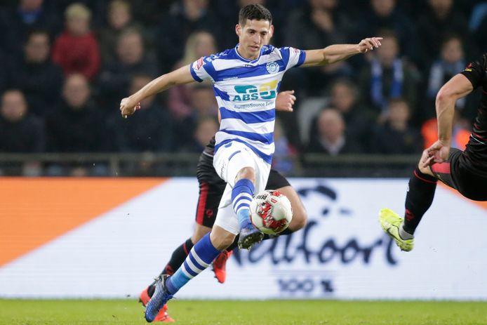 De Graafschap heeft het aflopende contract van Mohamed Hamdaoui met een jaar verlengd.