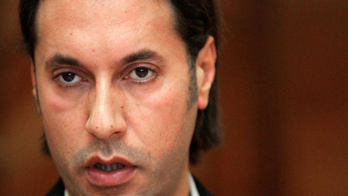 Een foto van Mutassim Kaddafi uit 2008.