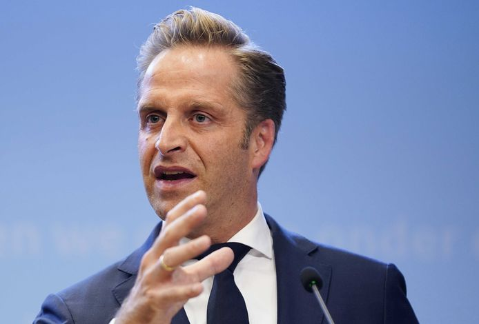 Minister Hugo de Jonge.