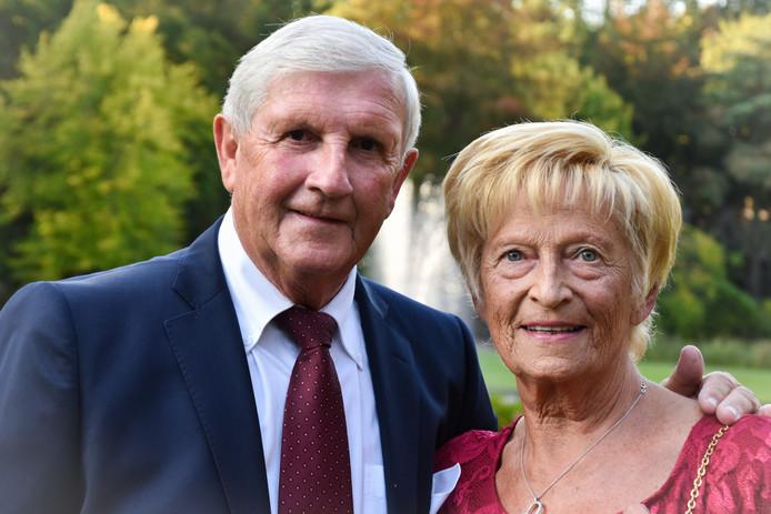 Christiane Rosseel, hier naast haar man Eric Van Vyve, is 72 jaar geworden.