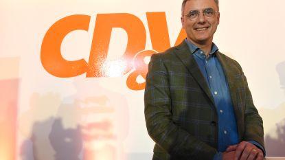 """Joachim Coens nieuwe voorzitter van CD&V: """"Nipt? Ik dacht zelfs dat het fifty-fifty zou zijn"""""""