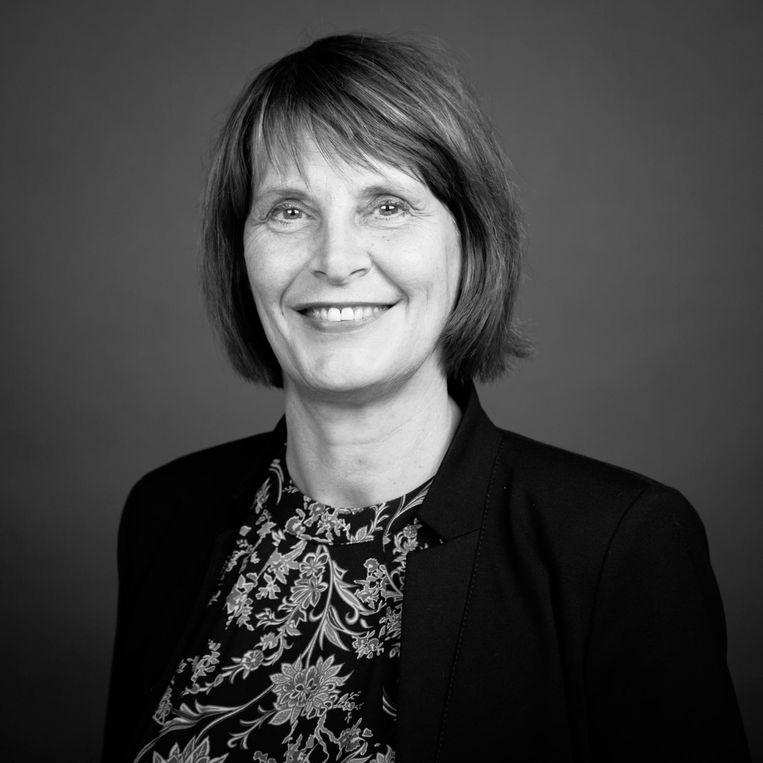 Diane Middelkoop, voorzitter van Breed Bestuurlijk Overleg Amsterdam. Beeld -