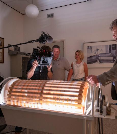 Tv-programma over uitvinding van kunstnier in Kampen