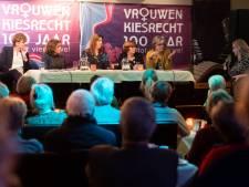 'Vrouw mocht vroeger niet over politiek praten'