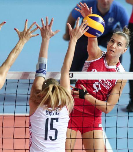 Volleybalsters treffen met Turkije van Guidetti goede bekende in kwartfinales