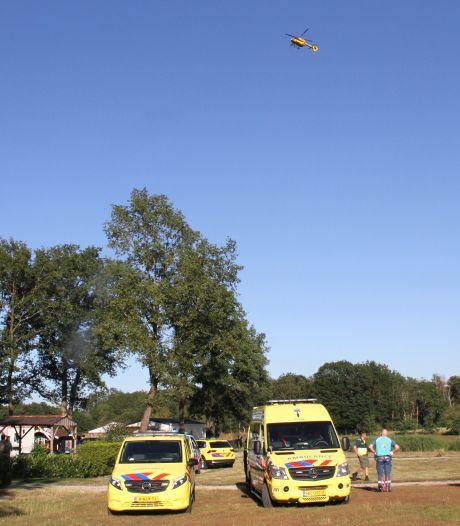 Meisje (5) ernstig gewond na val op camping Markelo