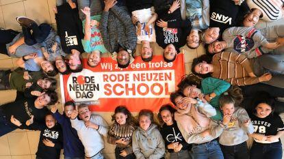 Sint-Angela zamelt 1.045 euro in en kroont zich tot Rode Neuzenschool