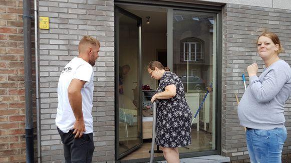 Caroline Nouws en Marc Smits verwachten in augustus een kindje. De schade komt dus  erg ongelegen.