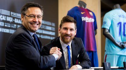 """Barcelona-voorzitter gaat rond de tafel met Messi: """"Lionel moet z'n hele leven bij Barça blijven, ook in een andere rol"""""""