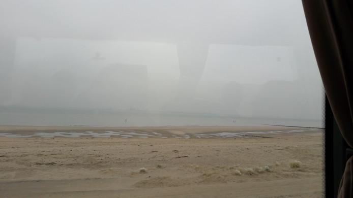 De Panoramaweg bij Groede.