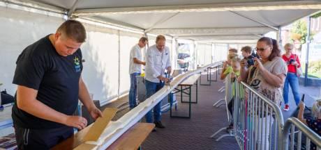 Langste tompouce in Nederland is 205 meter en 57,5 centimeter lang en komt uit Ommen