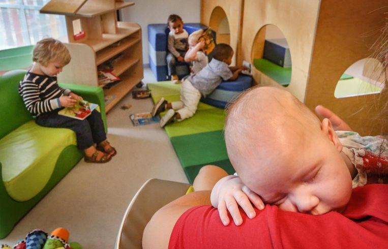 Boven volksrestaurant Vork opende in het najaar van 2018 de nieuwe vestiging van kinderopvang Blokkenhuis.