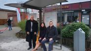 Nieuwe overdekte bushalte aan parochiecentrum van Noorderwijk