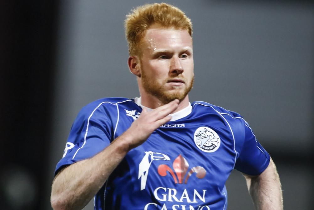 Jort van der Sande speelde vrijdag tegen Telstar het laatste halfuur mee, maar wist net als de rest van FC Den Bosch niet te scoren.