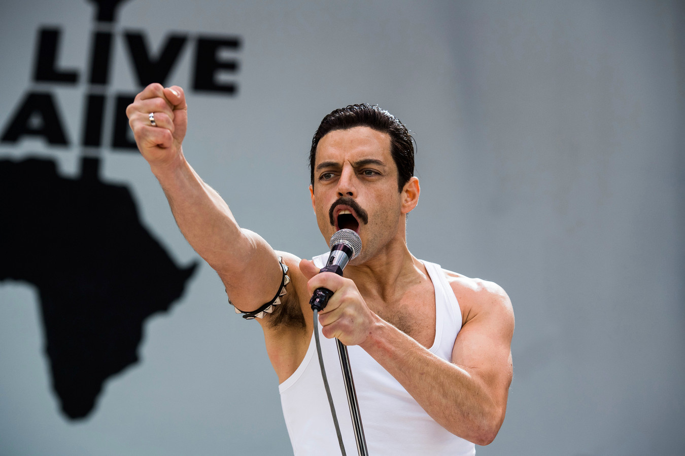 "Rami Malek, dans le film ""Bohemian Rhapsody""."