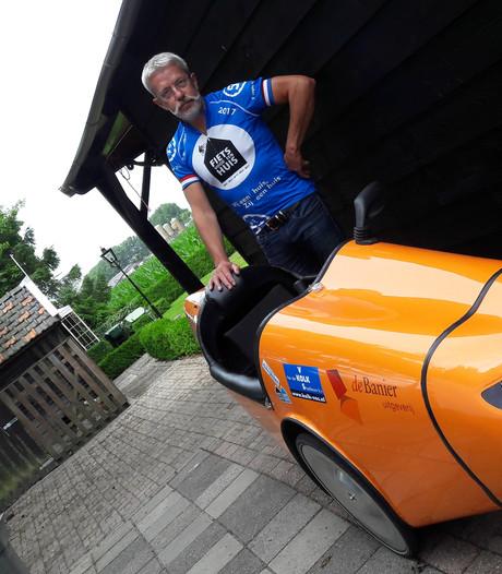 VIDEO: Adri Burghout uit Meeuwen beklimt de Galibier... liggend