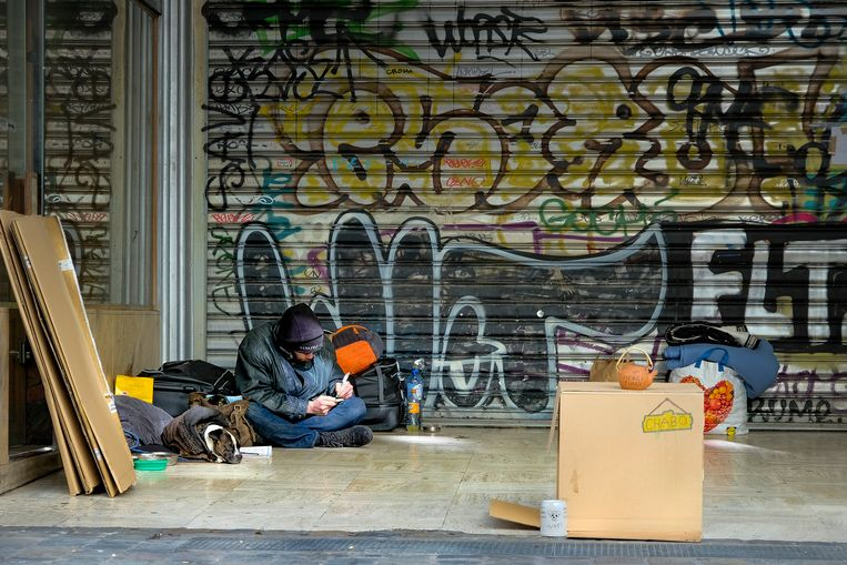Daklozen zijn volgens hulporganisaties extra kwetsbaar (Archiefbeeld)