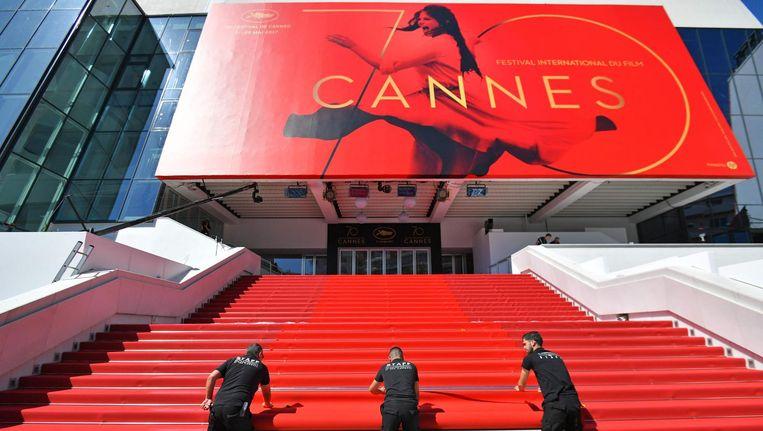 De jubileumeditie van het filmfestival in Cannes. Beeld null