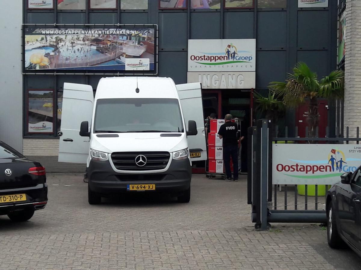 De FIOD deed dinsdag een inval op het hoofdkantoor van de Oostappen Groep in Asten