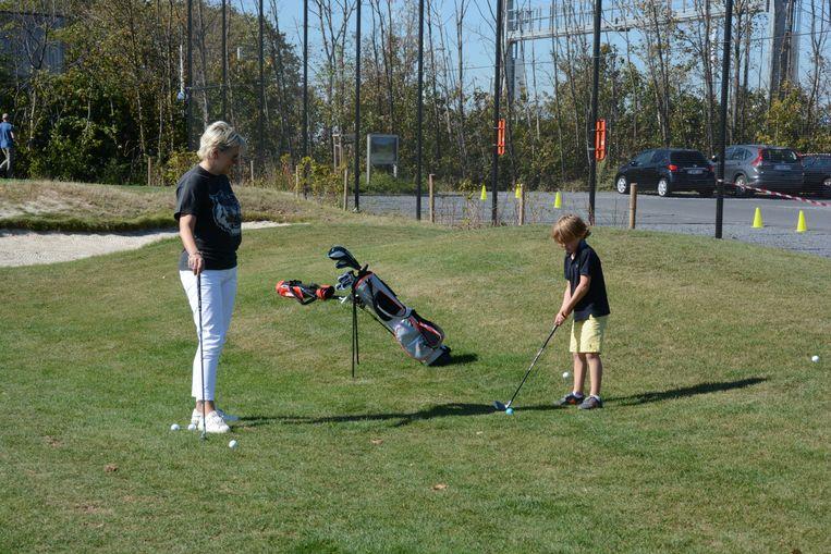 De club telt heel wat jonge golfers en daarom zijn er nu vier compact holes aangelegd.