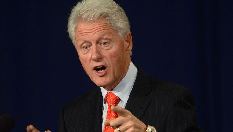 De gewezen Amerikaanse president Bill Clinton.