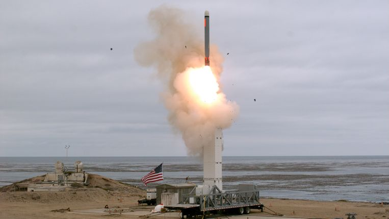 In augustus 2019 voerden de VS een test uit met een kruisraket, die volgens het INF-verdrag verboden was. Kort voor de oefening zegde Washington de steun aan het akkoord op omdat Rusland het niet zou hebben nageleefd.