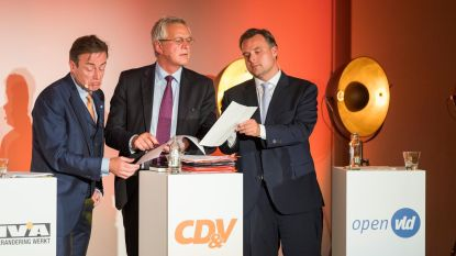 De Wever en Peeters: één front over economie en Oosterweel