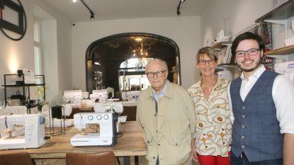"""Familiebedrijf Naaimachines De Clercq opent gloednieuwe winkel: """"De naaisector is hipper dan ooit"""""""