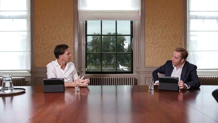 null Beeld Twitter Minister president Mark Rutte