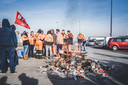 nationale staking in Gent, dokwerkers